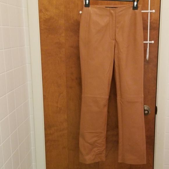 Dkny Pants - Lambskin Leather Pants